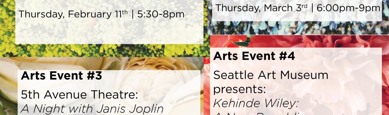 2016 ArtsFund Associates: Arts Event Series