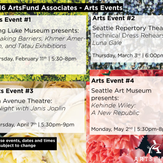 2016 ArtsFund Associates: Arts Event Series