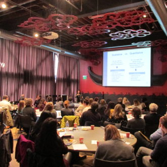 """What's Behind The Curtain""—Audience & Donor Research Symposium"