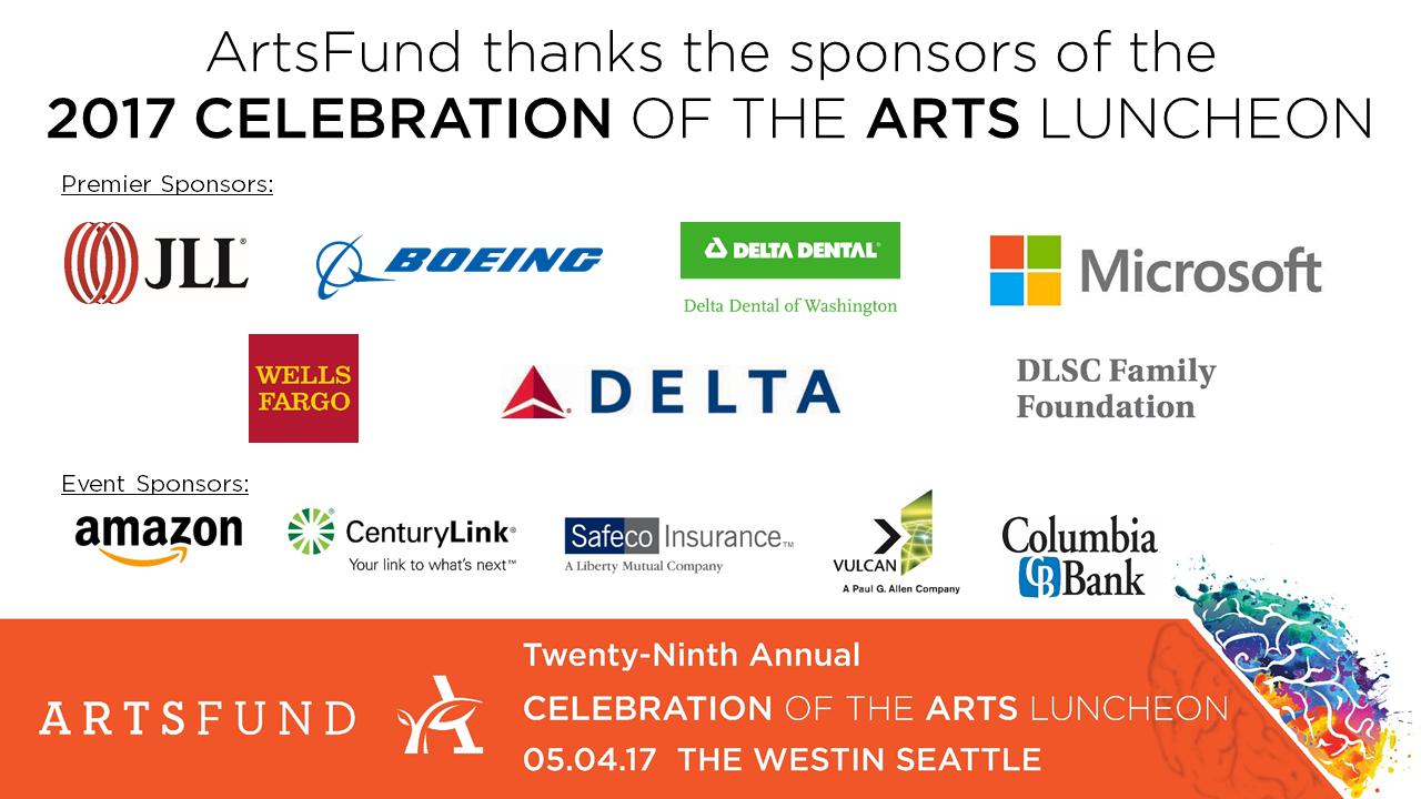 Luncheon sponsors slide