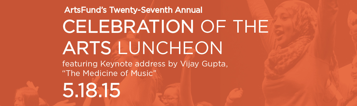 Registration Opens for ArtsFund Luncheon