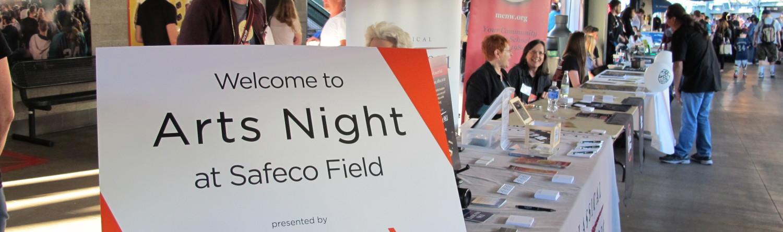 FOURTH ANNUAL ARTS NIGHT AT SAFECO FIELD
