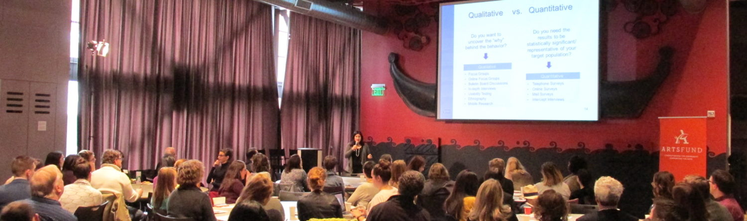 """""""What's Behind The Curtain""""—Audience & Donor Research Symposium"""