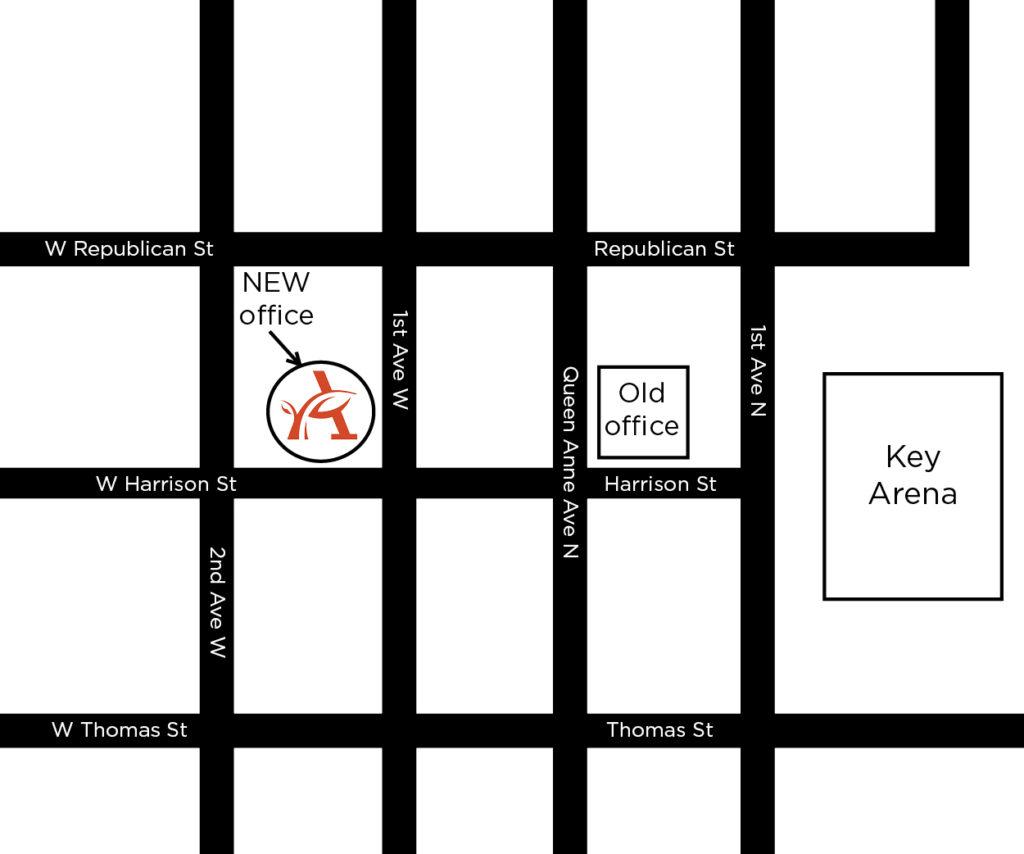 Map of ArtsFund's location