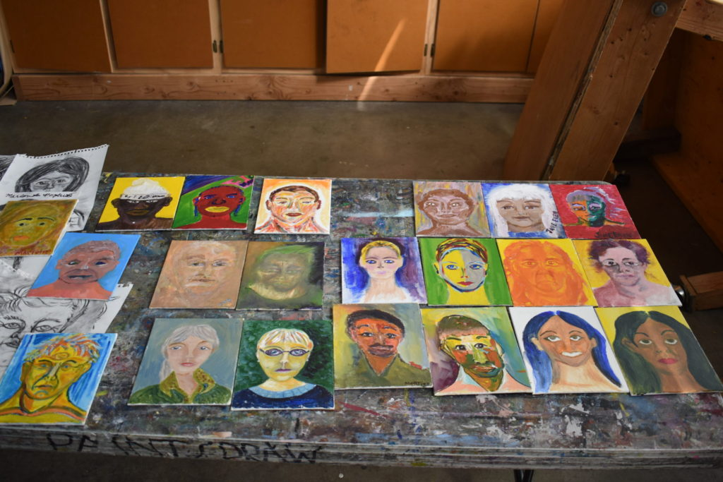 Path with Art, Portraits from Advanced Painting.